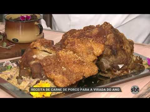 Receita De Carne De Porco Para A Virada Do Ano