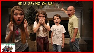 SPY CAMERAS, PUZZLES, TRAPS!  Working Together To ESCAPE THE ABANDONED MANSiON / That YouTub3 Family