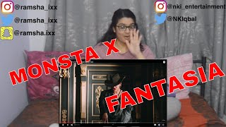 MONSTA X 몬스타엑스 'FANTASIA' MV (REACTION)
