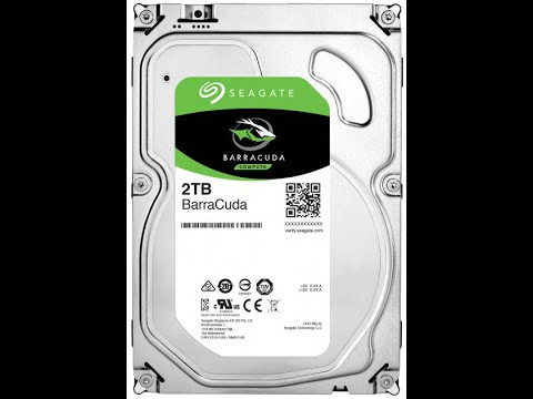 Жорсткий диск Seagate BarraCuda HDD 2TB 7200rpm 256MB ST2000DM008 3.5 SATA III
