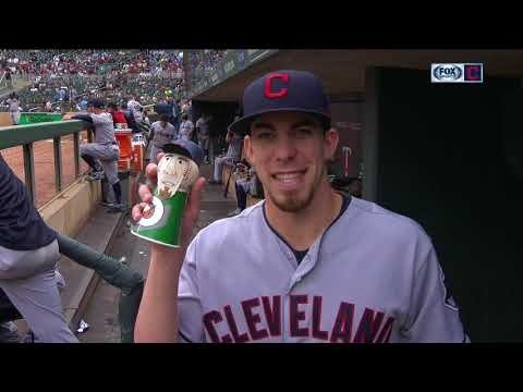 Mini Bradley Zimmer Is Latest Addition To Cleveland Indians' Mini Family