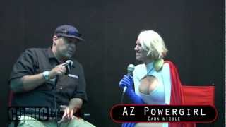 AZ Powergirl Interview at Baltimore Comic-Con 2012