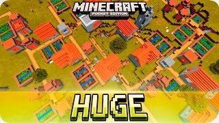 Minecraft PE Seeds - Huge Village Seed and 4 Desert Temples Seed - 0.16.0 / 0.15.0 MCPE