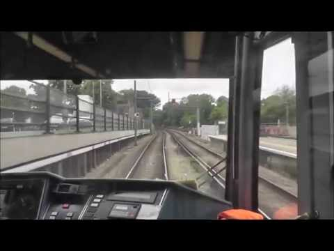 London Tramlink Cab Ride - Beckenham Junction To West Croydo