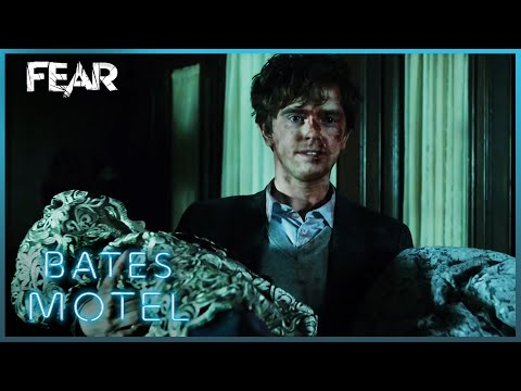 Norman Takes Norma's Body Back To The Motel | Bates Motel
