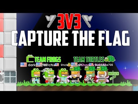 CAPTURE THE FLAG 3v3 | Growtopia *EPIC*