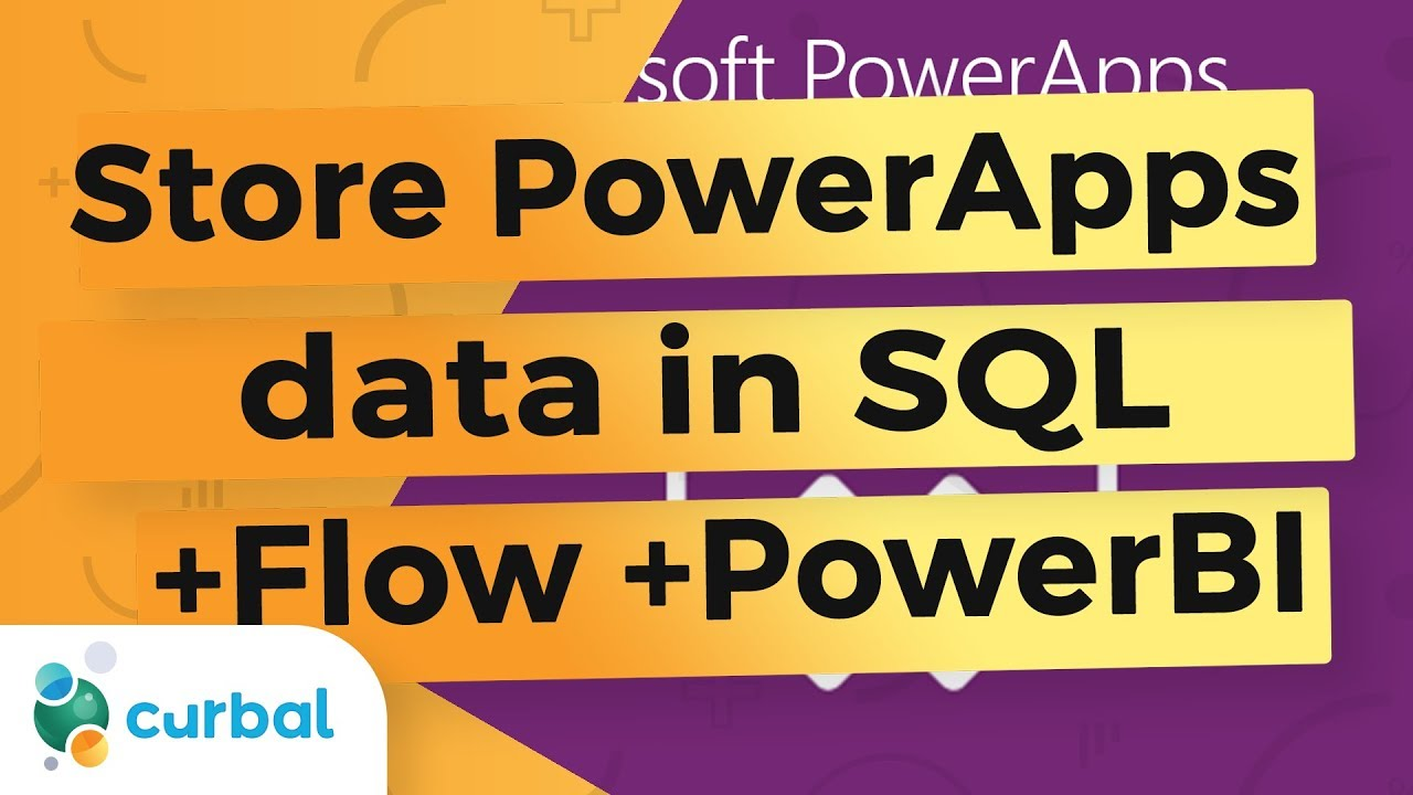 Store data from PowerApps in sql, approve it in flow and use it in Power bI