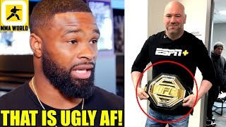 MMA Community Reacts to UFC's new 'Legacy Championship Belt',TJ Dillashaw vs Henry Cejudo weigh-ins