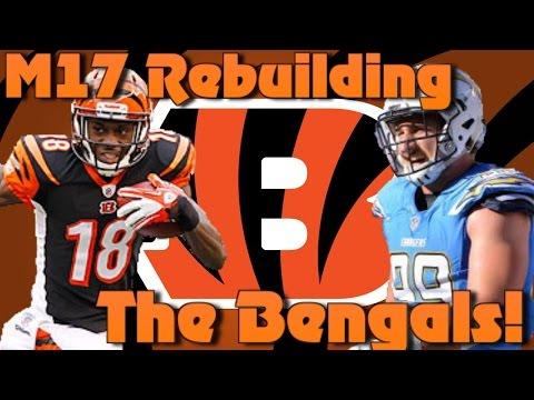 Madden 17 Franchise Rebuilding The Cincinnati Bengals! 99 Offense Defense?!