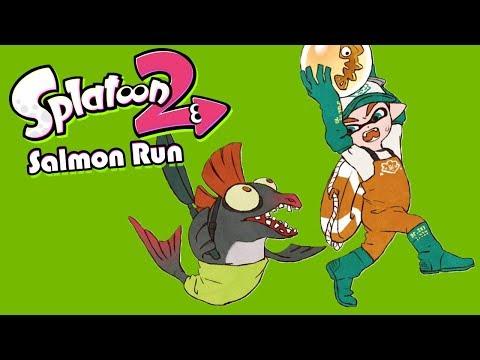 Struggling on THE HARDEST Map (Splatoon 2 Salmon Run)