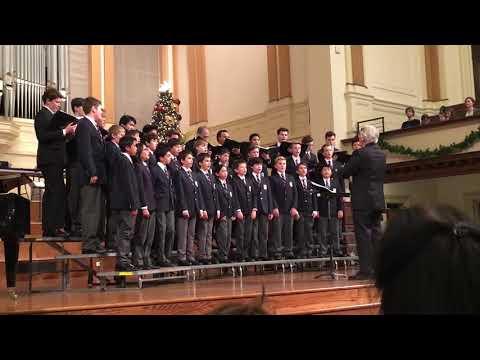 "San Francisco Boys Chorus sings ""Grinch! A Christmas Choral Melody"""