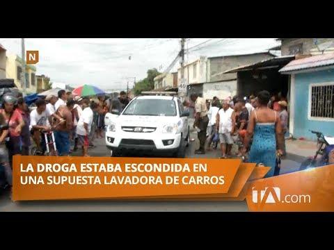 Segundo decomiso más grande de droga se realizó en el Suburbio de Guayaquil Teleamazonas