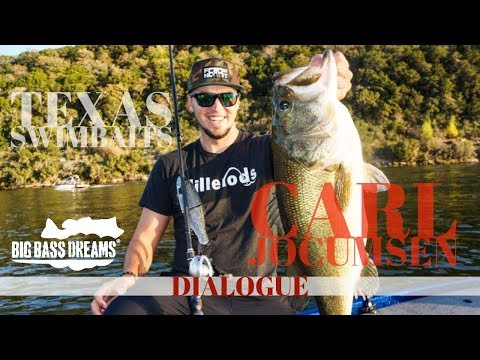 Carl Jocumsen Texas Swimbait Fishing Big Bass Dreams Dialogue