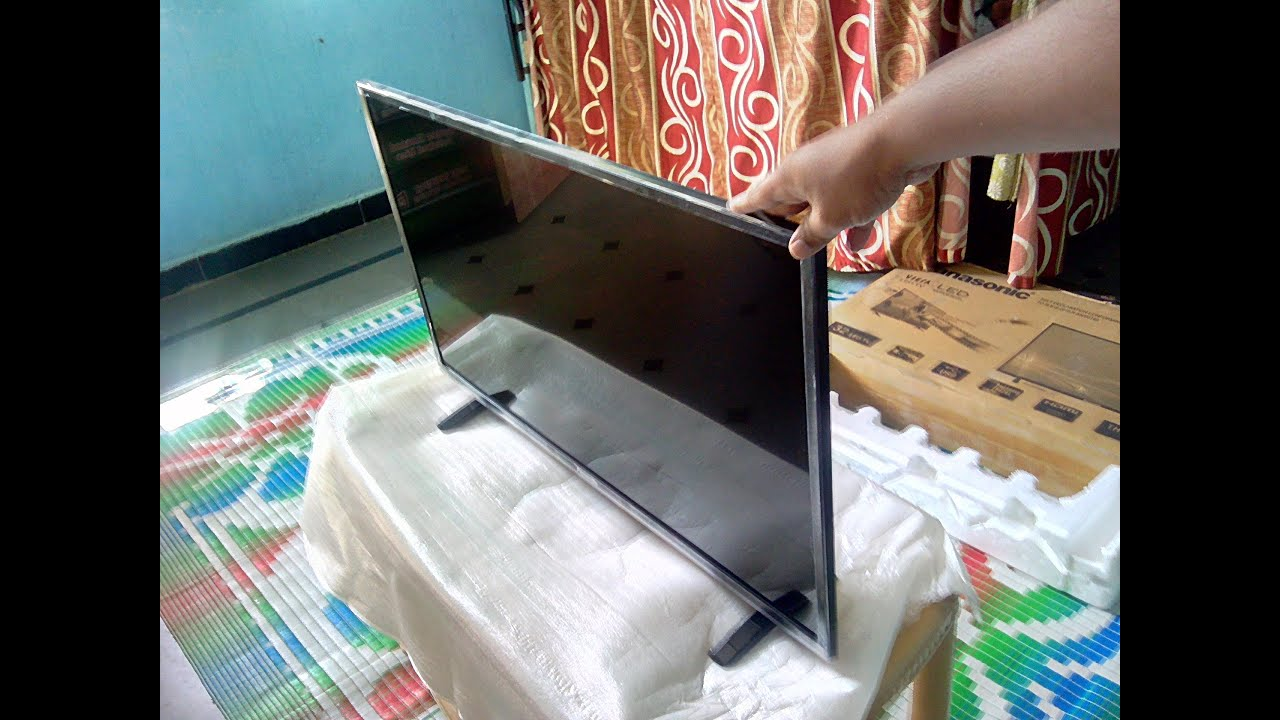 bc3b73d5e6e2a1 Unboxing Panasonic 32 Inch LED HD TV TH 32C350DX Review - YouTube