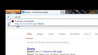 Firefox-Les résultats de la recherche dans un nouvel onglet