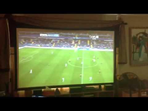 Viendo el futbol y el football en la sala de mi casa youtube - Equipo musica casa ...