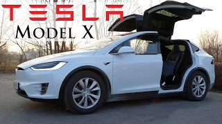 Jazda s Tesla Model X - volant.tv
