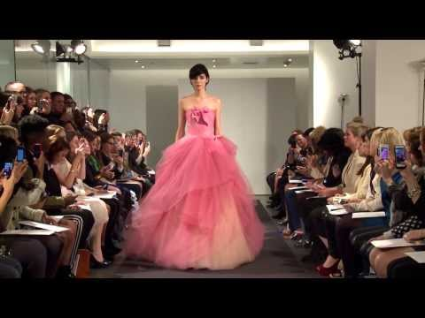 Vera Wang Fall 2014 Bridal Collection Runway Video