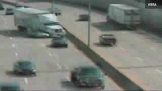 Crash Dallas Highway Accidente Trailer