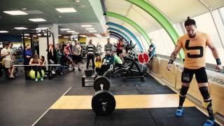 Соревнования по тяжелой атлетике в ЗАРЯДКЕ 02/2017(В феврале у нас в клубе прошли любительские соревнования по тяжелой атлетике. Перед вами компиляция выступ..., 2017-02-10T17:49:04.000Z)