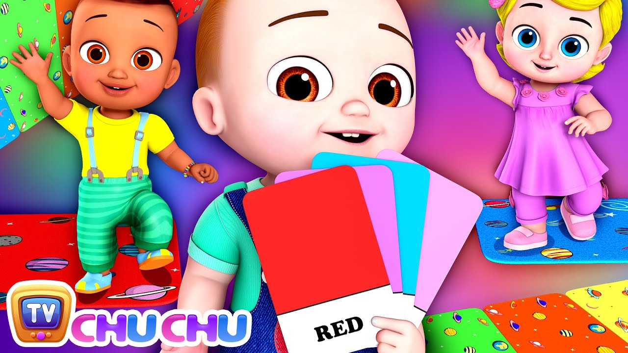 The Color Hop Song - ChuChu TV Baby Nursery Rhymes and Kids Songs