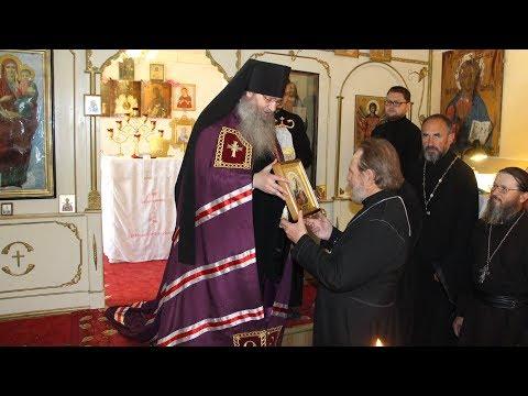 Служение епископа Елисея в день памяти Равноап. Ольги, вел. княгини Российской.