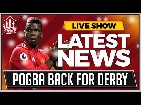 SNOW Cancels MANCHESTER UNITED vs MANCHESTER CITY? | POGBA Back For MAN UTD!