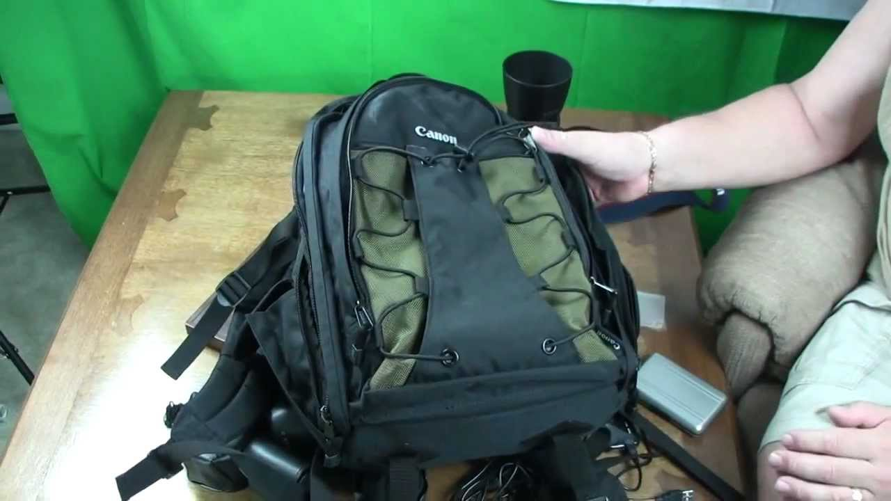 Canon Deluxe Photo Backpack 200eg Youtube