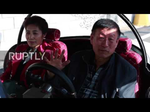China: Elderly man builds own solar-powered car to road trip around China