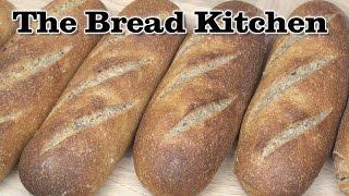 Sourdough Rye Rolls Recipe In The Bread Kitchen