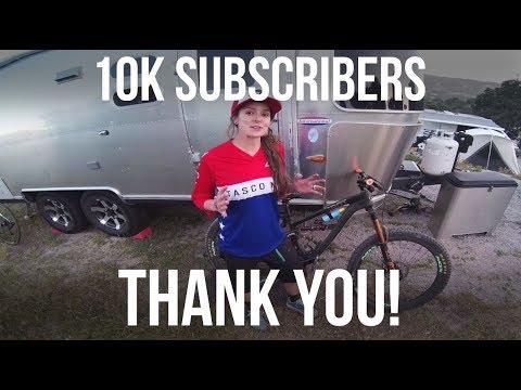 10k Subcribers - THANK YOU!!! - Dusty Betty Women's Mountain Biking