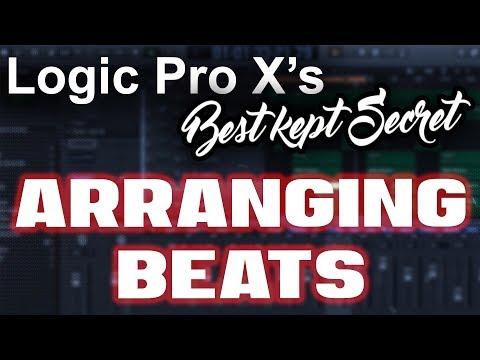 Logic Pro X's Best Kept Secret - How to Arrange Beats in Logic Pro X   Beat Maker Tutorials