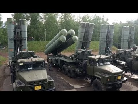 Russia's S-400 Is Being Tested By The American F-18 & F-22 A