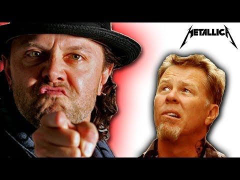 Dave Mustaine: Is James Hetfield AFRAID Of Lars Ulrich?