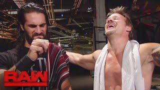 "Seth Rollins and Braun Strowman receive ""The Scarf of Jericho"": Raw, Nov. 14, 2016"