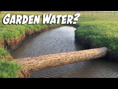 Alternative Way to Water the Garden?