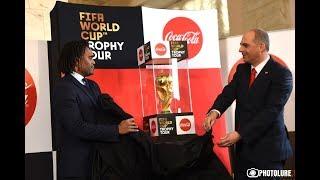 Երևանում առաջին անգամ ցուցադրվեց ՖԻՖԱ Աշխարհի առաջնության գավաթը