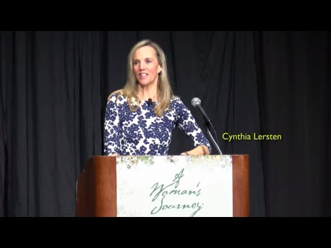 A Woman's Journey Palm Beach 2018 - Plenary speaker Cynthia Lersten