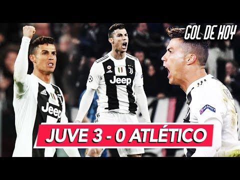 Jʊventus 3-0 AtIético I HAT-TRlCK de CRlSTlANO