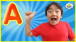 ASL Learn Sign Language ABC Alphabet for Kids with Song!