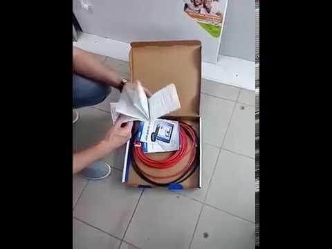 Распаковка DEVIflex. магазин ЭлектроДруг (г. Одесса)