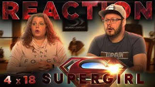 "Supergirl 4x18 REACTION!! ""Crime and Punishment"""