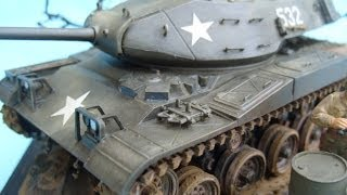 Tamiya 1/35 M41 'walker Bulldog' Tank - A Build In Pictures