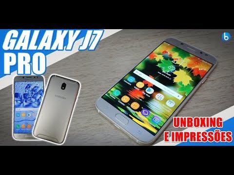 GALAXY J7 PRO | CHEGOU A NOVA VERSÃO DO SMARTPHONE MAIS POPULAR DA SAMSUNG! UNBOXING E IMPRESSÕES!