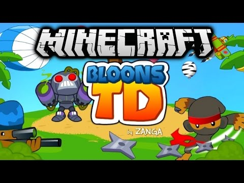 SO MANY GIANTS! - Minecraft BLOONS TOWER DEFENSE #3 with Vikkstar