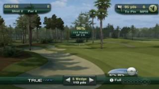 GDC 2010: Tiger Woods PGA Tour 11 Wii Demo