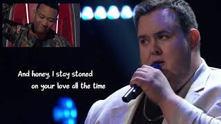 Shane Q Tennessee Whiskey Lyric - The Voice Blind Auditions 2019