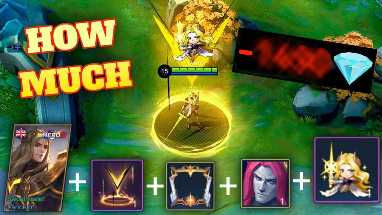HOW MUCH DID I SPEND ON THE NEW LANCELOT SKIN?! MLBB