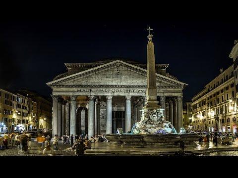 ROMA: Postcard Time Lapse Rome, Italy..