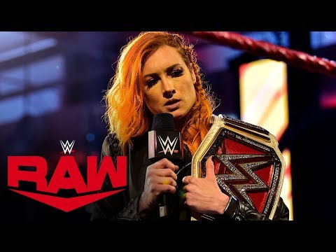 Becky Lynch ready to shock the world at Money in the Bank: Raw, April 13, 2020